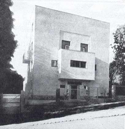 Adolf Loos - Casa Moller - Vienna - 1928.