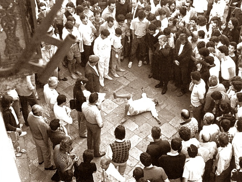 Il rituale del tarantismo.